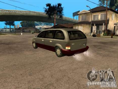 HD Blista для GTA San Andreas вид слева