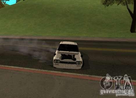 Nissan Skyline 2000 GT-R для GTA San Andreas вид сбоку