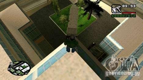 Новые текстуры госпиталя в Los Santos для GTA San Andreas третий скриншот
