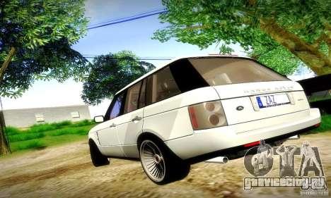 Range Rover Supercharged для GTA San Andreas вид сбоку