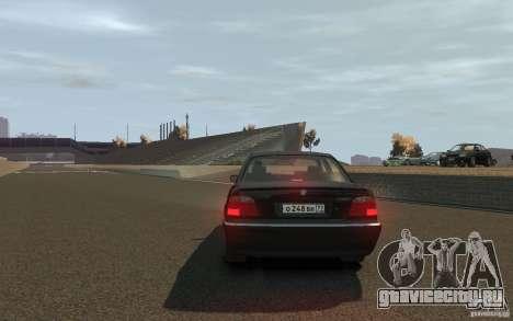 BMW 750i (e38) v2.0 для GTA 4 вид сзади слева