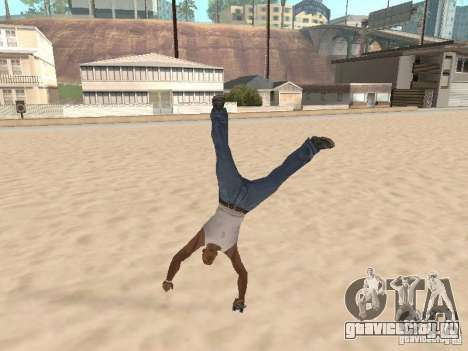 Parkour 40 mod для GTA San Andreas четвёртый скриншот