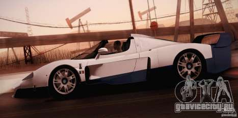 Maserati MC12 V1.0 для GTA San Andreas двигатель