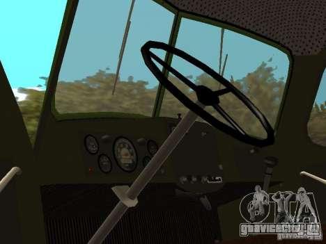 ЗиЛ 164П для GTA San Andreas вид сзади