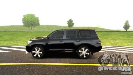 Toyota Land Cruiser 200 RESTALE для GTA 4 вид слева