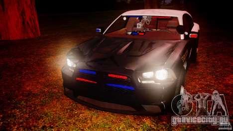 Dodge Charger 2012 Florida Highway Patrol [ELS] для GTA 4 вид сверху