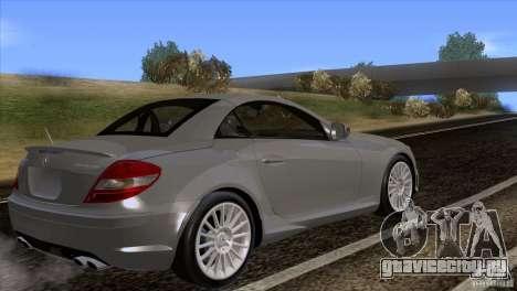 Mercedes-Benz SLK 55 AMG для GTA San Andreas вид слева
