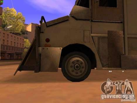 Monster Van для GTA San Andreas вид справа