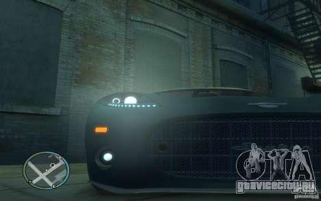 Spyker C8 Aileron для GTA 4 вид сбоку