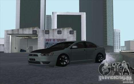 Proton Inspira Stance для GTA San Andreas вид слева