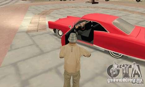 Pontiac Bonneville 1966 для GTA San Andreas вид сзади
