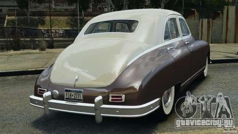 Packard Eight 1948 для GTA 4 вид справа