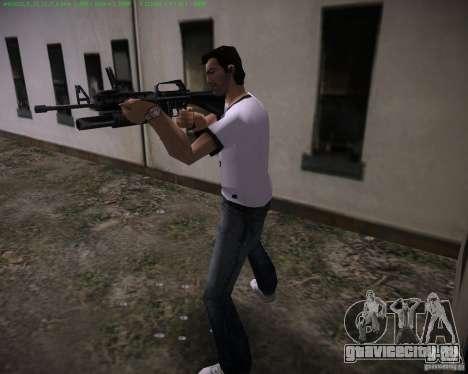 М-16 из Scarface для GTA Vice City второй скриншот