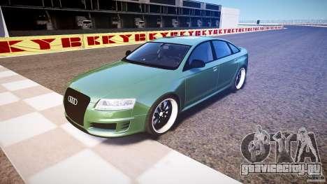 Audi RS6 2009 для GTA 4