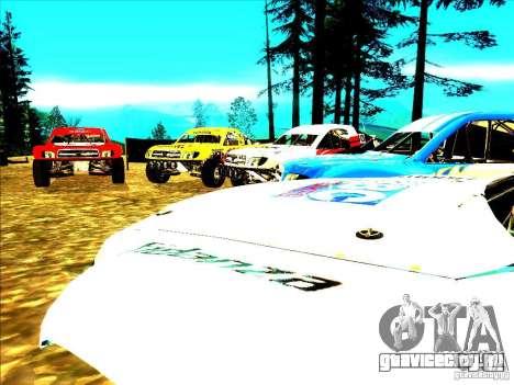 Toyota Tundra Rally для GTA San Andreas салон