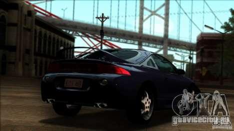 Mitsubishi Eclipse GSX 1999 для GTA San Andreas вид слева