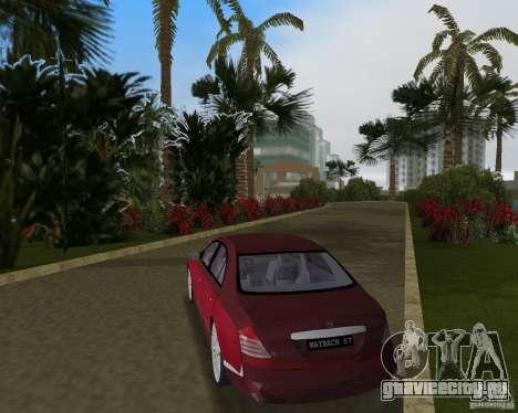 Maybach 57 для GTA Vice City вид справа