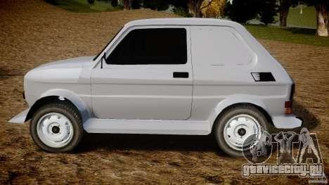 Fiat 126p Bis Rally для GTA 4 вид слева