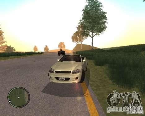 Feltzer из GTA 4 для GTA San Andreas вид сзади слева