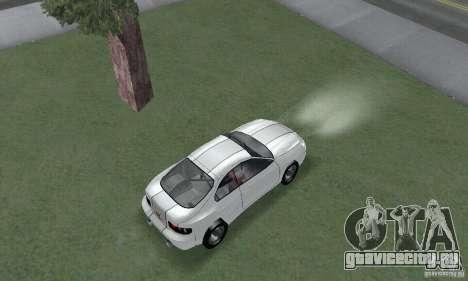 Toyota Celica GT4 2000 для GTA San Andreas вид сзади слева