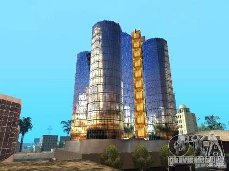 Новая текстура небоскреба для GTA San Andreas четвёртый скриншот