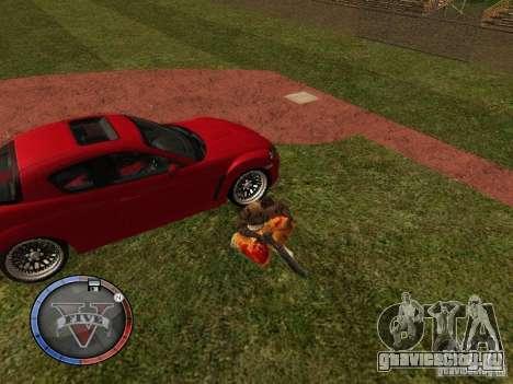 GTA 5 HUD для GTA San Andreas восьмой скриншот