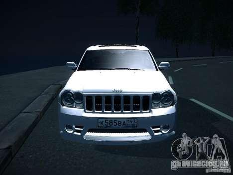 Jeep Grand Cherokee SRT8 для GTA San Andreas вид справа