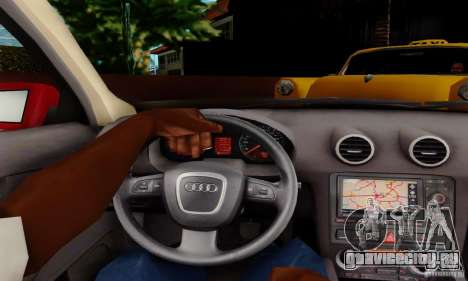 Audi A3 Sportback 3.2 Quattro для GTA San Andreas вид справа