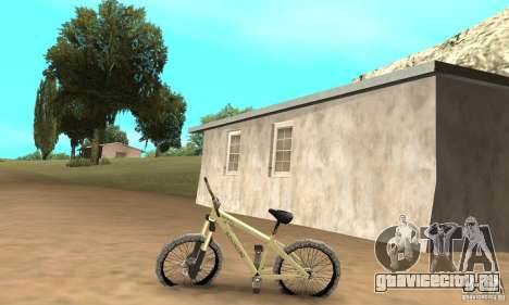 Specialized P.3 Mountain Bike v 0.8 для GTA San Andreas вид слева