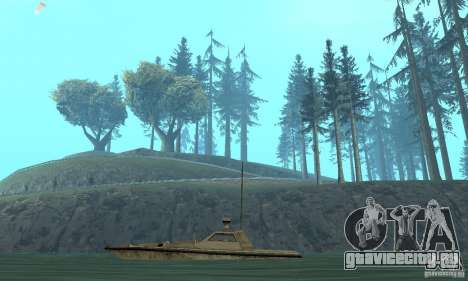 GTA III Ghost для GTA San Andreas вид сзади слева