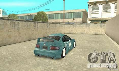 Toyota Celica GT-Four v1.1  1994 для GTA San Andreas вид снизу