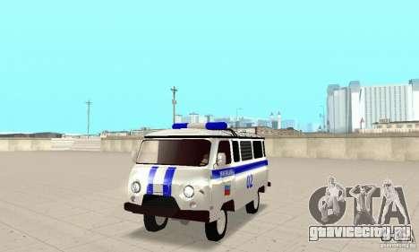 УАЗ Милиция для GTA San Andreas вид слева