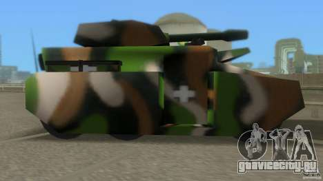 Bundeswehr-Panzer для GTA Vice City третий скриншот