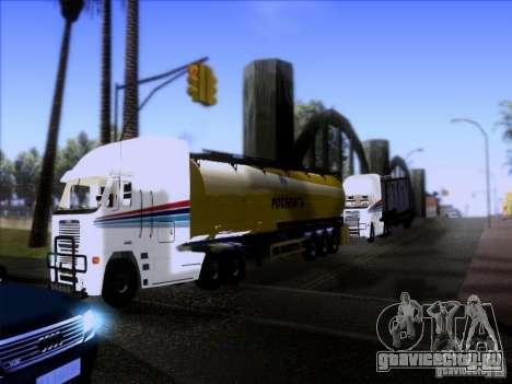 Freightliner Argosy Skin 3 для GTA San Andreas вид изнутри