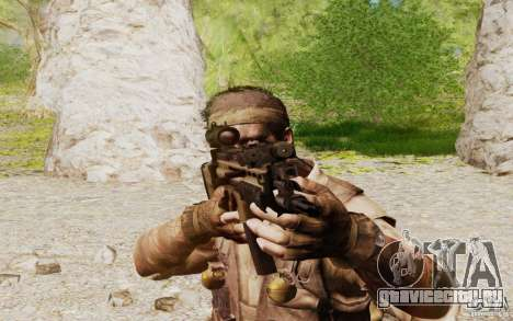 FN Scar L для GTA San Andreas четвёртый скриншот