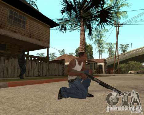 CoD:MW2 weapon pack для GTA San Andreas второй скриншот