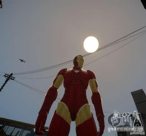 Iron Man Mk3 Suit для GTA 4 второй скриншот