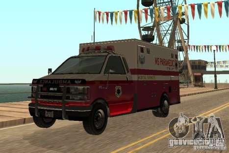Ambulance из GTA 4 для GTA San Andreas