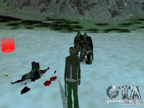Подводные монстры для GTA San Andreas седьмой скриншот