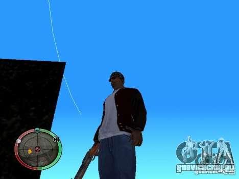 Изменение стиля стрельбы из Узи и Обреза для GTA San Andreas
