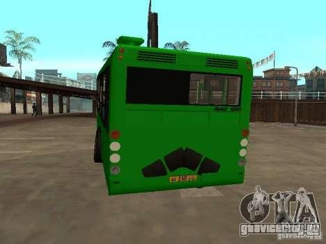 Прицеп для ЛиАЗ 6213.20 для GTA San Andreas вид справа
