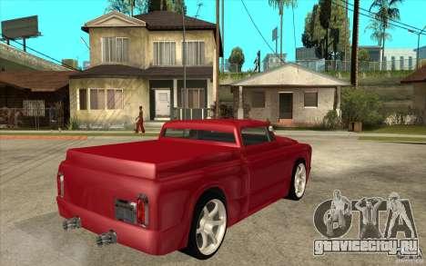 Slamvan Custom для GTA San Andreas