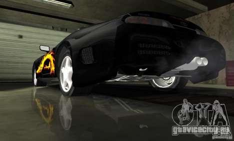 Toyota Supra Tuneable для GTA San Andreas вид сверху