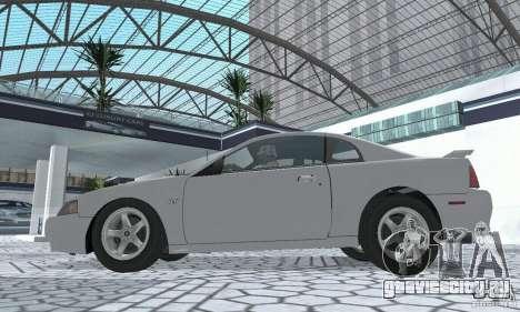 Ford Mustang GT 2003 для GTA San Andreas вид справа