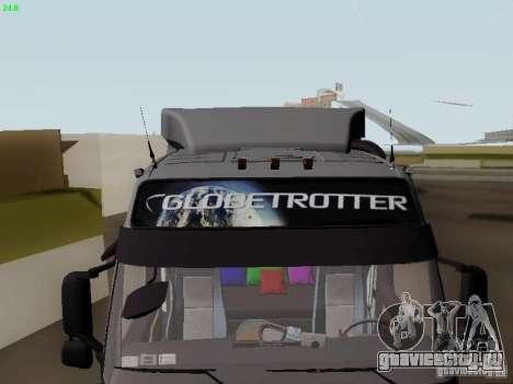 Volvo FH13 Globetrotter для GTA San Andreas вид сверху
