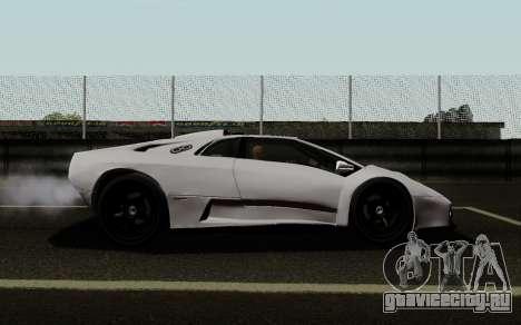 Lamborghini Diablo GTR TT Black Revel для GTA San Andreas вид слева