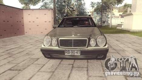 Mercedes-Benz E320 Funeral Hearse для GTA San Andreas вид сзади слева
