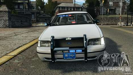 Ford Crown Victoria Police Unit [ELS] для GTA 4 вид сверху