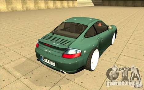 Porsche 911 Turbo для GTA San Andreas вид сбоку