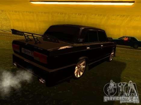 ВАЗ 2107 X-Style для GTA San Andreas вид справа